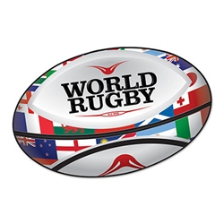 Rugby Ball Cutout