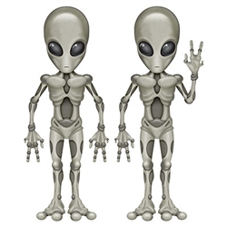 Alien Cutouts