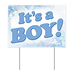 All Weather It's A Boy! Yard Sign