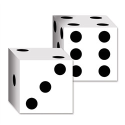 dice card boxes