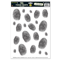 fingerprints peel n place sticker