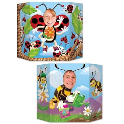 ladybug bumblebee photo prop