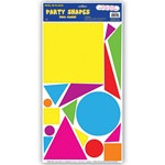 Party Shapes Peel N Place