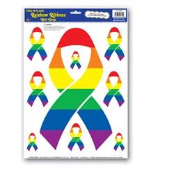 rainbow ribbon peel n place