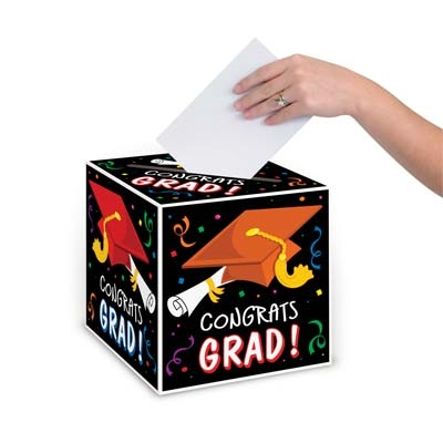Congrats Grad Card Box