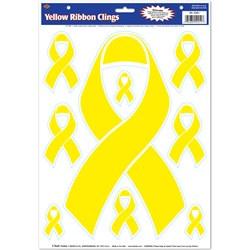 yellow ribbon clings