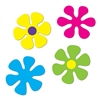 Retro Flower Cutouts
