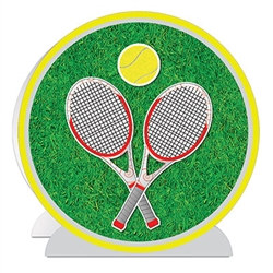3-D Tennis Centerpiece