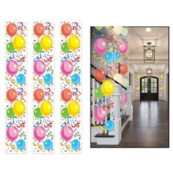 balloon party panels