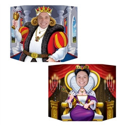 King & Queen Photo Prop