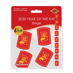 2020 Year Of The Rat Stringer