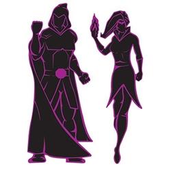villian silhouettes