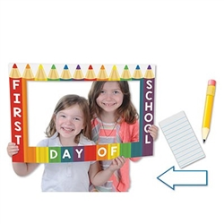 School Days Photo Fun Frame - capture school days memories with photoes that have flair!
