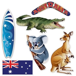 Australian Cutouts - 'roos to boards and koalas to bommerangs, you've got it all!