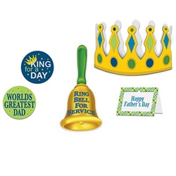 Fathers Day King For A Day Kit