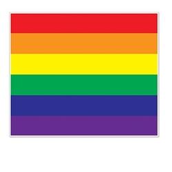 rainbow insta-mural photo op