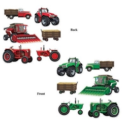 Farm Equipment Cutouts