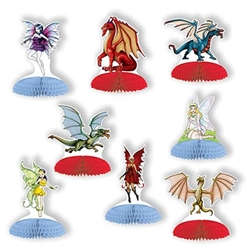 Fantasy Mini Centerpieces turn your table top into a land of myth and legend!