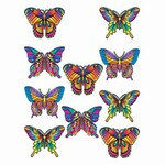 Mini Butterfly Cutouts (10/Pkg)