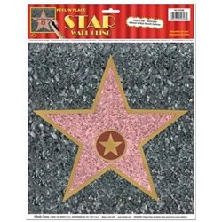 Hollywood Star Peel N Place Decal