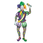 Jointed Mardi Gras Jester