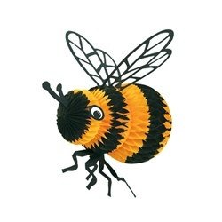 Art-Tissue Bee - you'll want to use it your next spring fling just 'Bee-cause'!