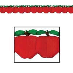 tissue apple garland