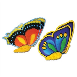 tisue butterflies