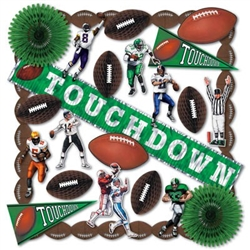 Football Party Decorating Kit