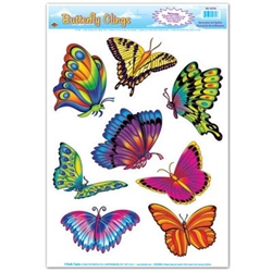 Butterfly Clings - celebrate spring on the wing!