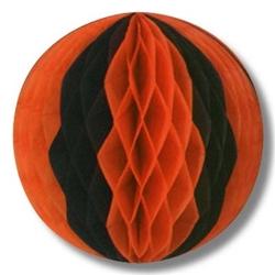pkgd tissue ball- orange and black