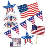 4th of July party decorations kit