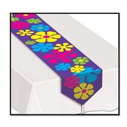 Printed 60's Table Runner