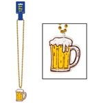 Beer Mug Medallion Beads