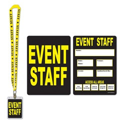 Event Staff Party Pass