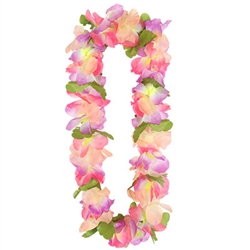 Silk N Petals Tropical Garden Lei