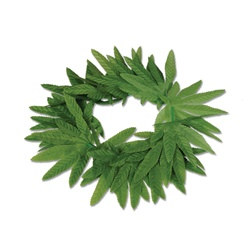 Tropical Fern Leaf Headband - great for luau & jungle themed parties and a great accessory for your fantasy themed cosplay look.
