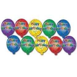 mini happy birthday cutouts