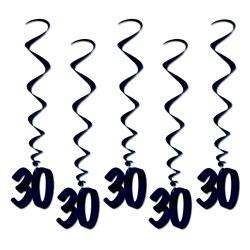 black 30 whirls