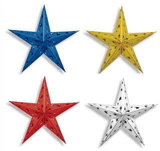 "24"" dimensional foil star"
