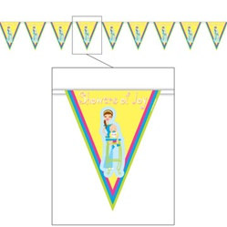 Showers of Joy Pennant Banner