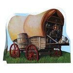 3-D Chuck Wagon Centerpiece