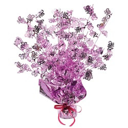 Its A Girl Gleam N Burst Centerpiece