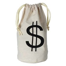 Money Bag - give them something to take the party loot home in