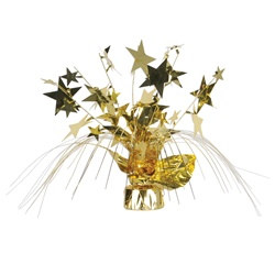 Gold Star Gleam N Spray Centerpiece