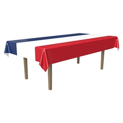 Show your pride and cover your table with this Patriotic Tablecover