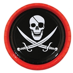 Pirate Lunch Plates (8/Pkg)