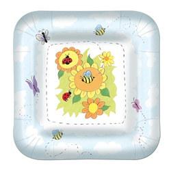 garden lunch plates