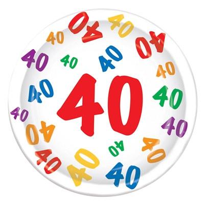 40 plates