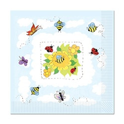 garden lunch napkins